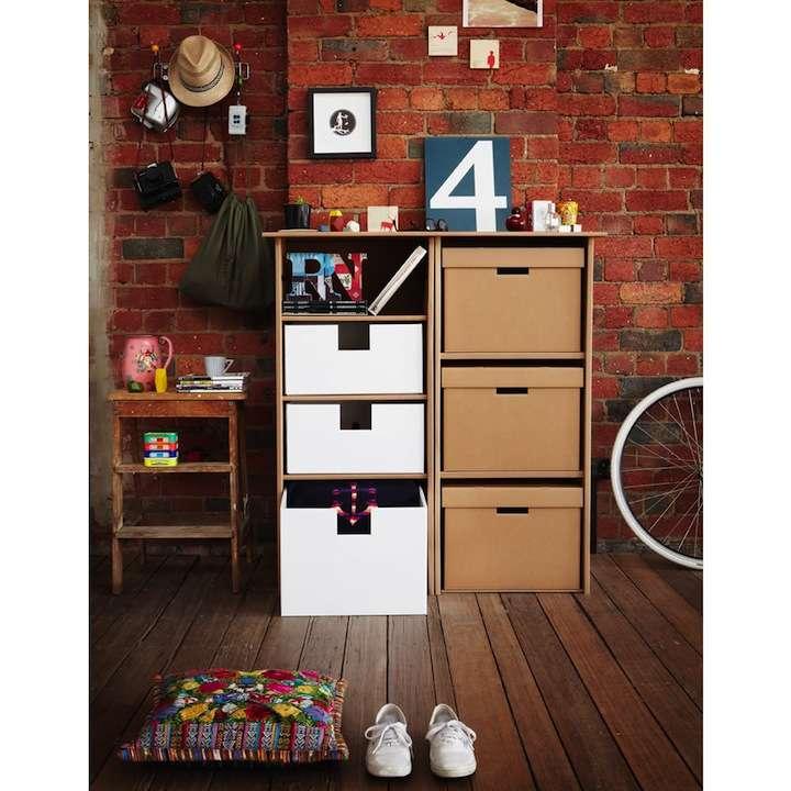 karton06 - Decoración Eco Chic: Muebles hechos de cartón