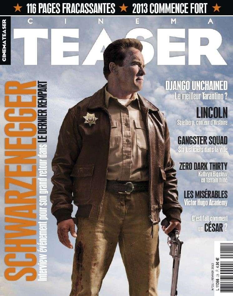 Cinema Teaser N°21 Février 2013