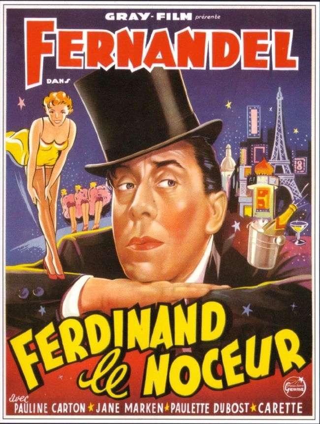 Ferdinand le noceur affiche