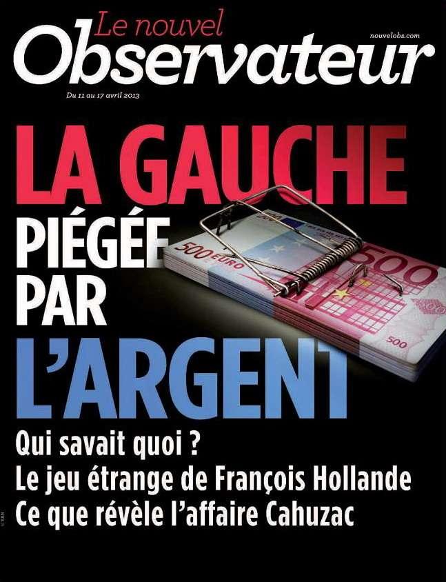 Le Nouvel Observateur N°2527 du 11 au 17 Avril 2013