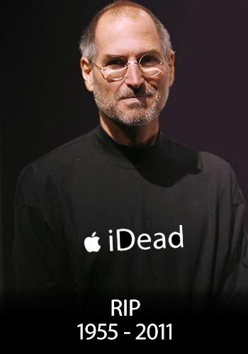 Steve Jobs iDead